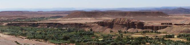 Ait Ben Haddou-Region, Panorama Stockbild