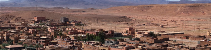 Ait Ben Haddou region , panorama Stock Photo