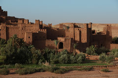 Ait Ben Haddou. Small city Ait Ben Haddou in Morocco royalty free stock photos