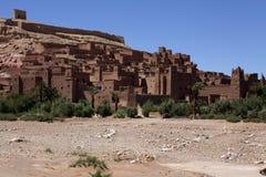 Ait Ben Haddou - vila do kasbah em Marrocos Fotografia de Stock