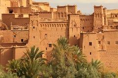 AIT Ben Haddu Marocco Photos libres de droits