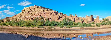 ait benhaddou摩洛哥 库存图片