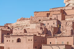 Ait Benhaddou,摩洛哥Kasbah 免版税图库摄影