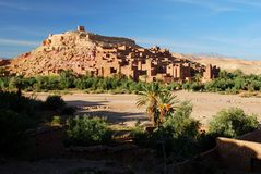 Ait Benhaddou, Souss马萨Drâa,摩洛哥 库存图片