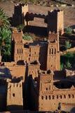 Ait Benhaddou, Souss马萨Drâa,摩洛哥 免版税图库摄影