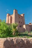 Ait Benhaddou, παραδοσιακό berber kasbah, Μαρόκο Στοκ εικόνες με δικαίωμα ελεύθερης χρήσης