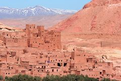 AIT Benhaddou Fotos de Stock Royalty Free