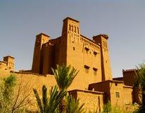 Ait Benhaddou Fort royalty-vrije stock afbeeldingen