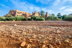 Ait Benhaddou,fortified city, kasbah or ksar in Ouarzazate, Morocco Stock Photos