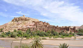 Ait Benhaddou Kasbah, Марокко Стоковая Фотография