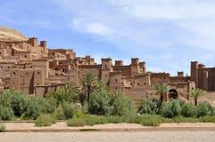 Ait Benhaddou Kasbah, Марокко Стоковые Фото