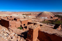 Ait Benhaddou kasbah Fotografering för Bildbyråer
