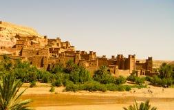 Ait Benhaddou kasbah Stock Foto's