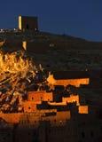 Ait Benhaddou kasbah, along the former caravan route Stock Images
