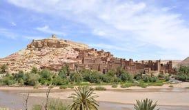 AIT Benhaddou Kasbah, Marokko Stockfotografie