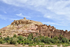 AIT Benhaddou Kasbah, Marokko Lizenzfreie Stockbilder