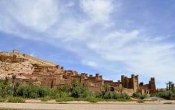 AIT Benhaddou Kasbah, Marrocos Fotografia de Stock Royalty Free