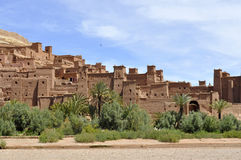 AIT Benhaddou Kasbah, Marrocos Fotos de Stock