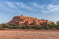 Ait Benhaddou Kasbah in morning, Morocco. Stock Photography