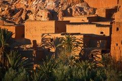 Ait Benhaddou Ksar Kasbah, Марокко, Африка Стоковое Изображение RF