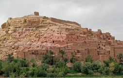 AIT Benhaddou (Maroc) Image stock