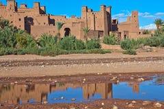 AIT Benhaddou, Maroc Image stock