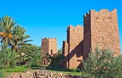 AIT Benhaddou, Maroc Photos stock