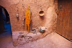 AIT Benhaddou, Maroc Photo stock