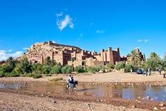 AIT Benhaddou, Maroc Image libre de droits