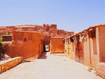 Ait Benhaddou Marocko Royaltyfria Bilder