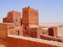 Ait Benhaddou Marocko Royaltyfri Bild
