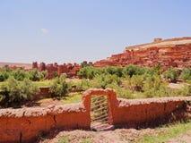 Ait Benhaddou Marocko Arkivfoto