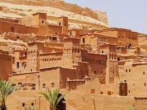Ait Benhaddou Marocko Arkivbilder