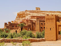Ait Benhaddou Marocko Royaltyfri Foto