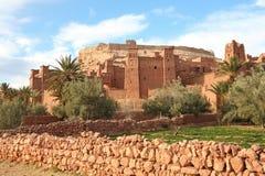 AIT Benhaddou, Marokko Stockbild