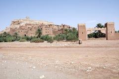 Ait Benhaddou Maroko Obraz Stock