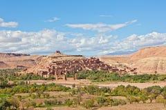 AIT Benhaddou, Marruecos Imágenes de archivo libres de regalías