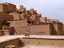 Ait Benhaddou (Morocco). Fortified city (ksar) Ait Benhaddou in Morocco. Since 1987 on the UNESCO World Heritage Site list Royalty Free Stock Photo