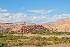 Ait Benhaddou, Morocco royalty free stock images