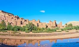 ait-benhaddou morocco Arkivfoton