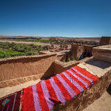 ait-benhaddou morocco Arkivfoto