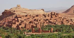 ait-benhaddou morocco Arkivbild