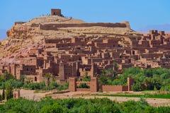 Ait Benhaddou Morocco Royaltyfri Fotografi