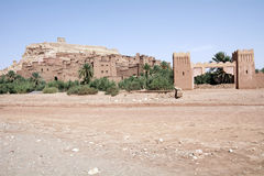 Ait Benhaddou Morocco Stock Afbeelding