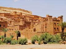 Ait Benhaddou, Morocco. Ait Benhaddou - fortified city on the route between the Sahara Desert and Marrakech in Morocco, Africa Stock Image