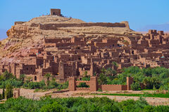 Ait Benhaddou Morocco royalty free stock photography