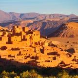 Ait Benhaddou, Ouarzazate, Marrocos Imagens de Stock Royalty Free