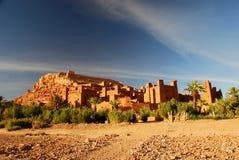 Ait Benhaddou, Souss-Massa-Drâa, Marocco Fotografia Stock