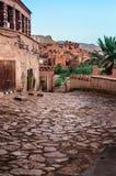 Ait Benhaddou, stärkt stad, kasbah eller ksar i Marocko Royaltyfria Bilder