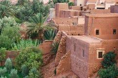 Ait Benhaddou, stärkt stad, kasbah eller ksar i Marocko Royaltyfri Bild